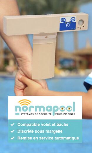 Alarme piscine Discrete DSM