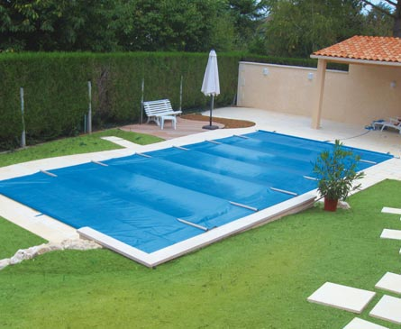 couverture à barres piscine toutes saisons