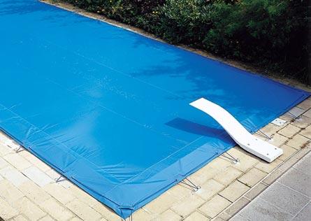 bâche hivernage piscine opaque