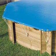 Couverture hivernage piscine bois Ubbink