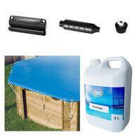 Pack complet pour l'hivernage piscine bois Ubbink
