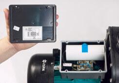 Branchement électrique pompe ESPA Tifon