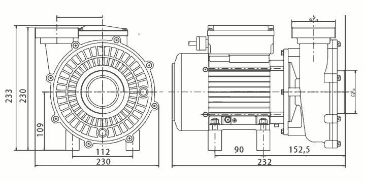 Pompe Solubloc 10 compatible Desjoyaux p18