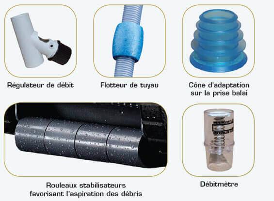 Tuyau robot piscine free de tuyau polaris with tuyau for Aspirateur piscine victor