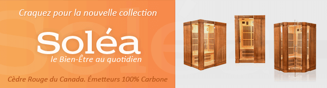 collection de sauna infrarouge Soléa