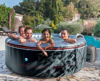 spa gonflable netspa montana 6 places mypiscine. Black Bedroom Furniture Sets. Home Design Ideas