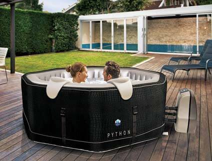 spa gonflable netspa python 6 places mypiscine. Black Bedroom Furniture Sets. Home Design Ideas