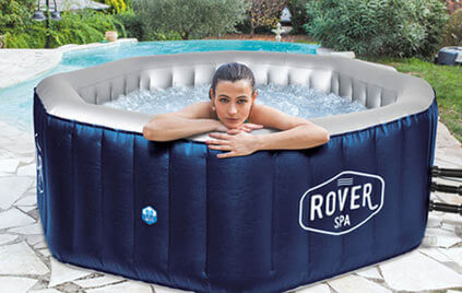 spa gonflable netspa rover 6 places mypiscine. Black Bedroom Furniture Sets. Home Design Ideas